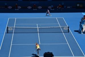 Li Na versus Maria Sharapova
