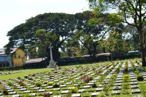 War Cemetery at Kanchanaburi