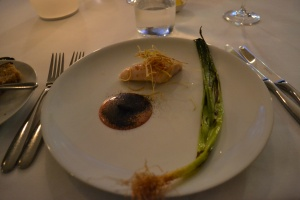 Chicken with Liver parfait