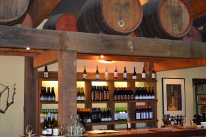 The cellar door at Yalumba