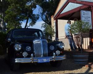 "The ""Old Lady"" outside Torbreck vineyards"