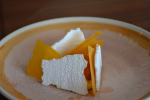 Apricot and meringue