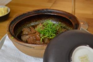 Caramel pork hotpot