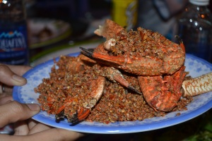 Crayfish with Chilli Salt